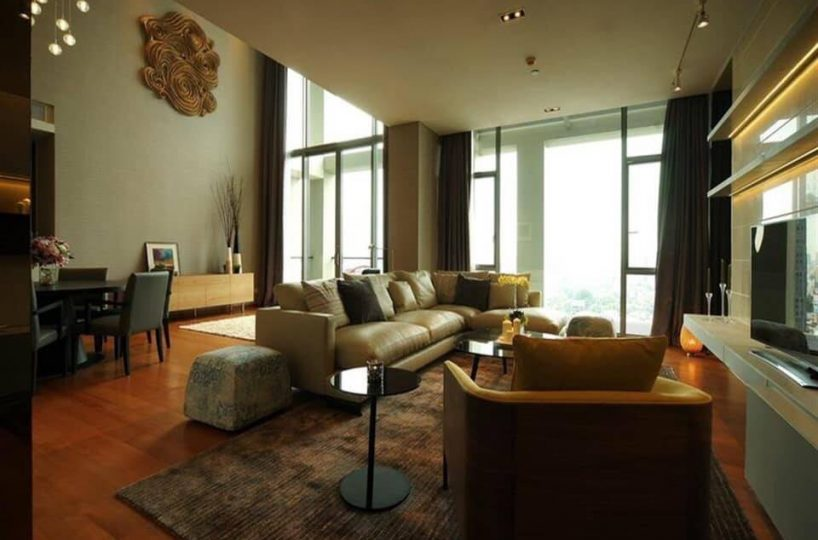 The Sukothai Residences - 2 bed 2 bath - floor 19