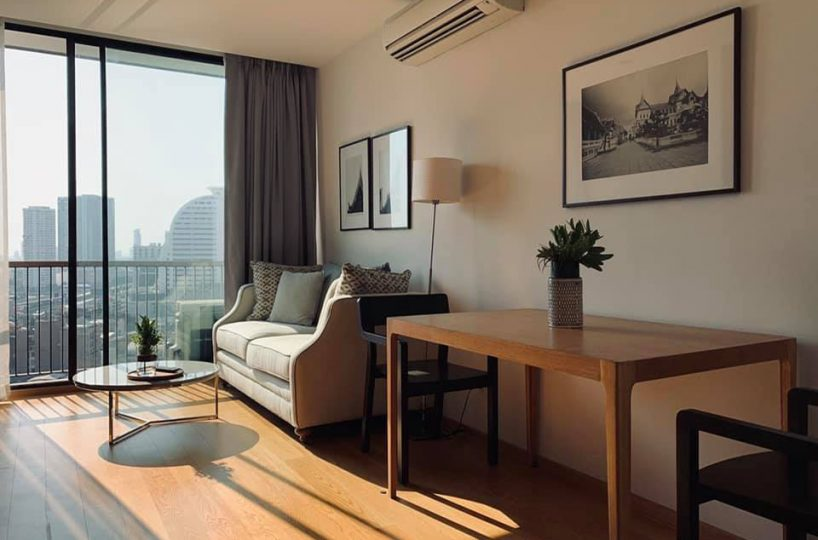 Noble Revo Silom - 2 bed 2 bath - floor 17