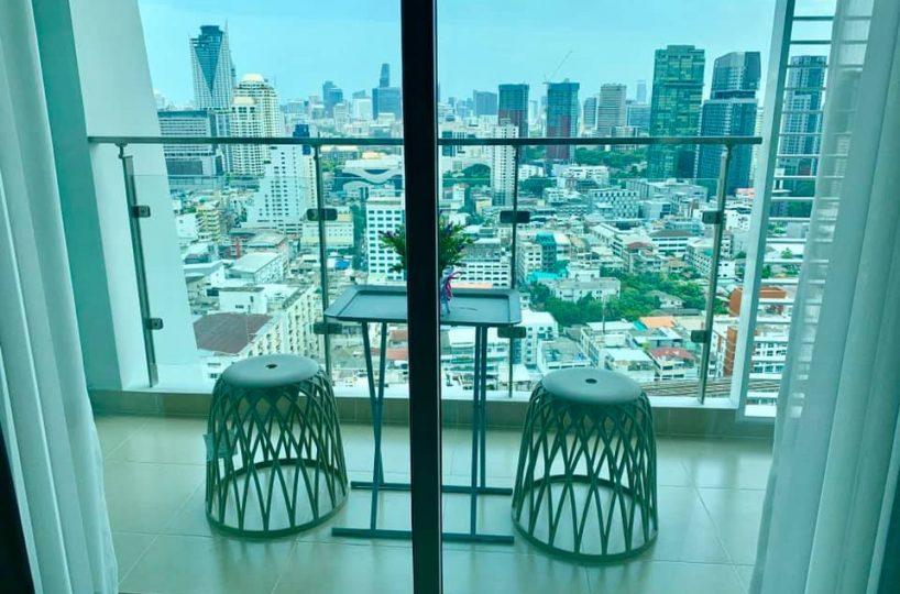 R907 Supalai Elite Phayathai - 1 bed - floor 29