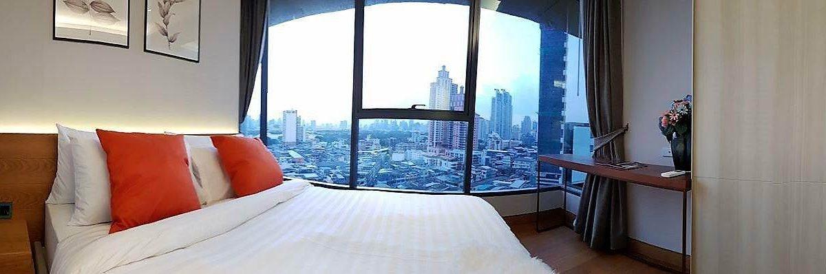 927 The Lumpini 24 - 2 bed 2 bath - floor 12