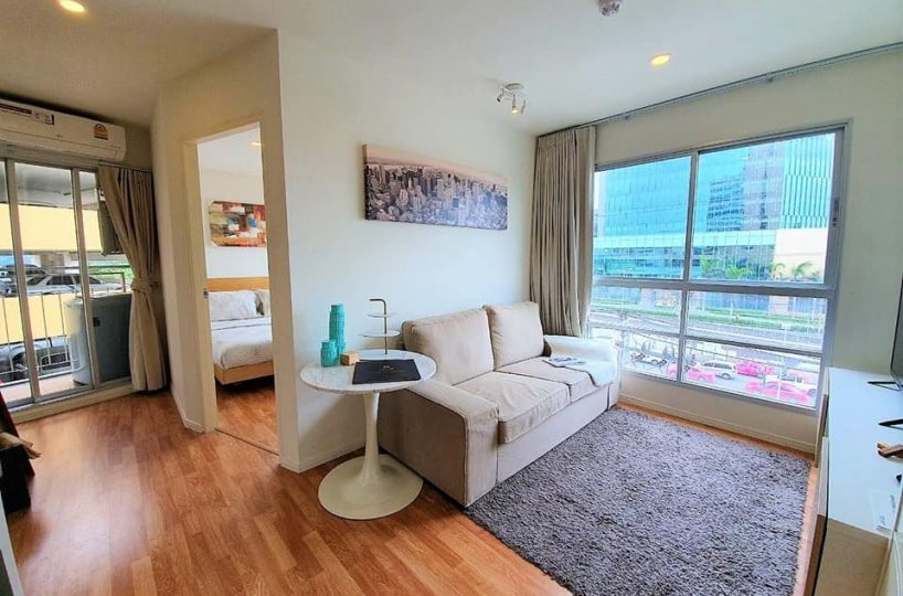 925 Lumpini place Rama 4 Ratchada - 1 bed - floor 5