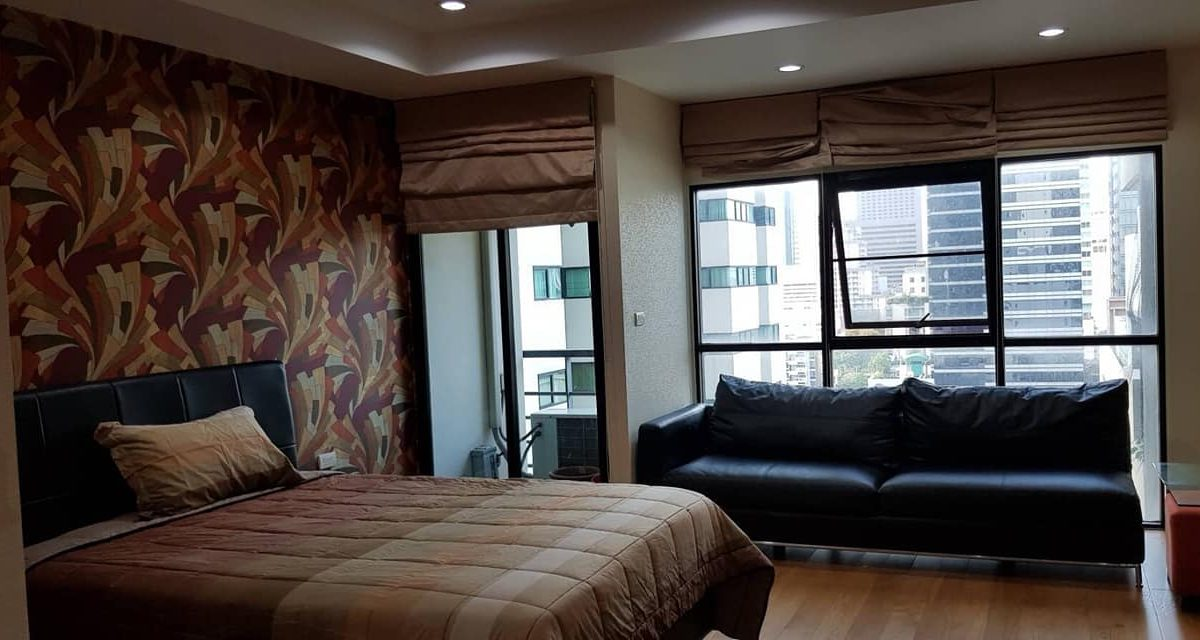 R1447 Sathorn Gardens - Studio - floor 13