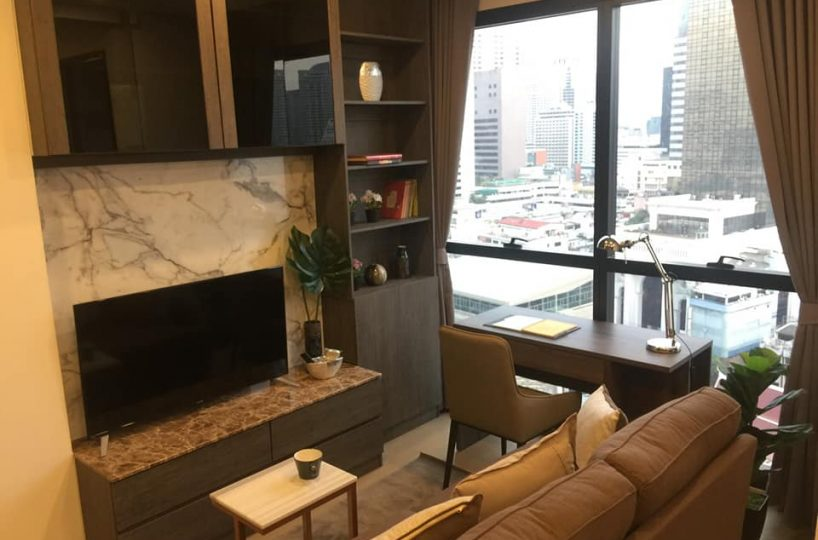R1394 Ashton Chula Silom - 1 bed - floor 17