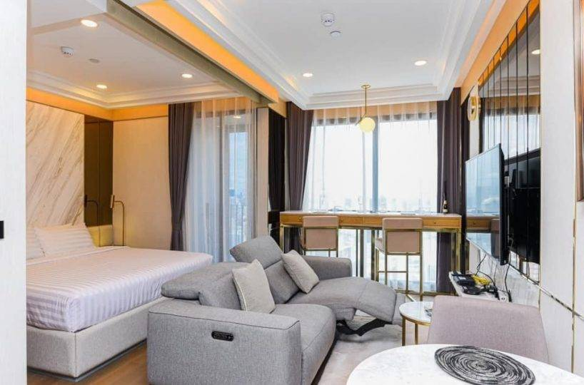 R1450 Ashton Chula Silom - 1 bed - floor 44
