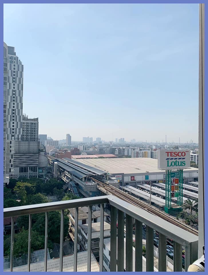 R1410 Q House Sukhumvit 79 - 2 bed 1 bath - floor 14