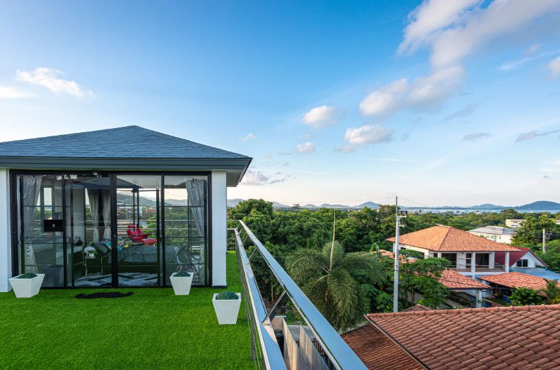 Rooftop with View - Villa Hotel Rawai Phuket - 7 beds 7.5 baths
