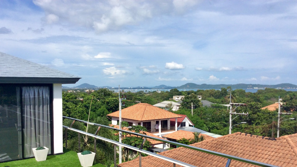 View from Rooftop - Villa Hotel Rawai Phuket - 7 beds 7.5 baths