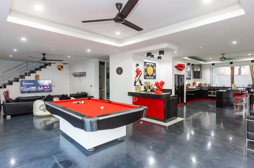 Game Room View - Villa Hotel Rawai Phuket - 7 beds 7.5 baths