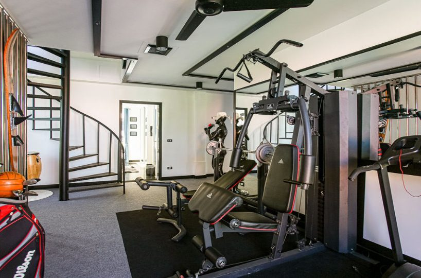 Fitness Room - Villa Hotel Rawai Phuket - 7 beds 7.5 baths