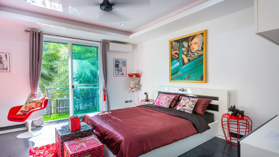 Bedroom 4 - Villa Hotel Rawai Phuket - 7 beds 7.5 baths