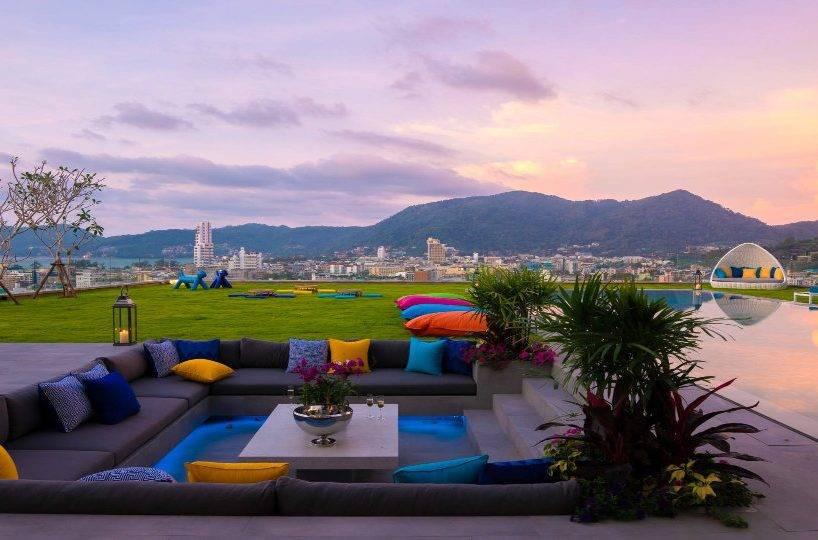 Pool Relaxation - Villa Enjoy Patong Beach Phuket