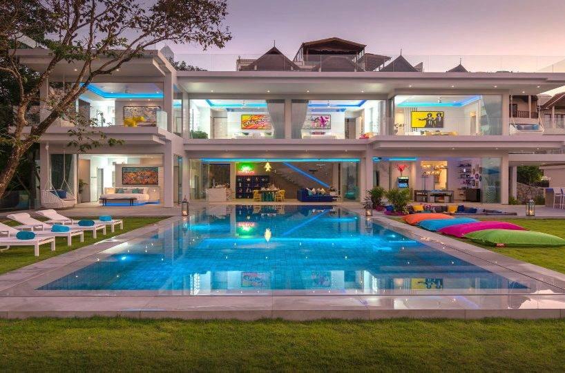Pool Front View - Villa Enjoy Patong Beach Phuket