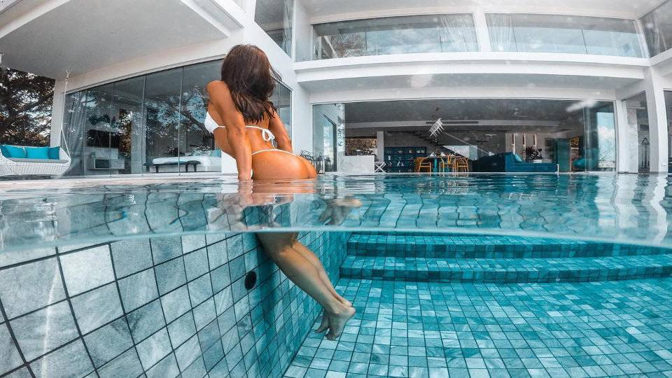 Pool Swimming - Villa Enjoy Patong Beach Phuket