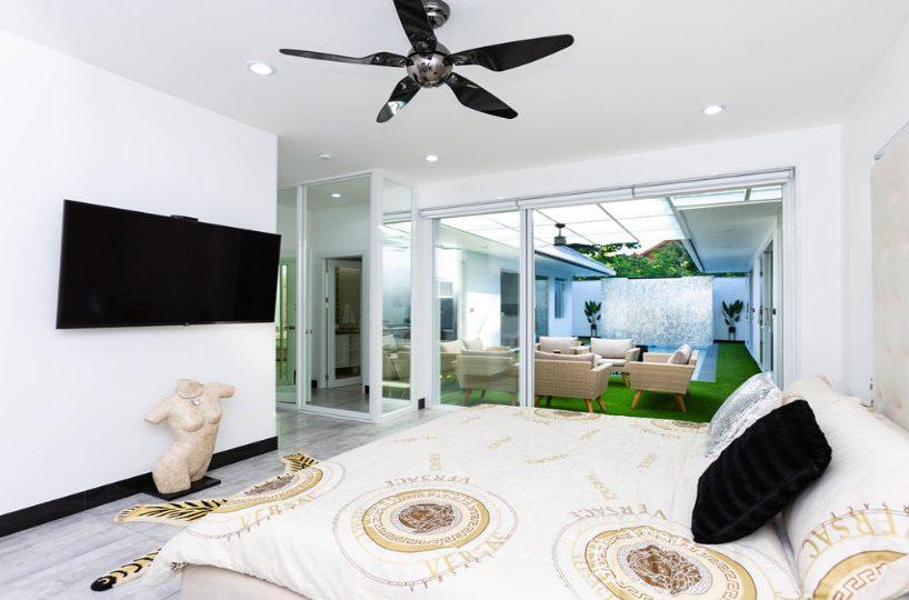 Master Bedroom Side - One-Story Pool Villa Rawai 4 beds 4 baths