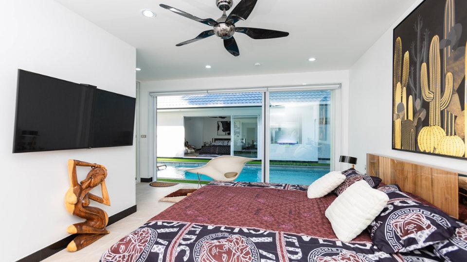 Bedroom 2 Side - One-Story Pool Villa Rawai 4 beds 4 baths