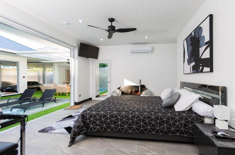Bedroom 3 Side - One-Story Pool Villa Rawai 4 beds 4 baths