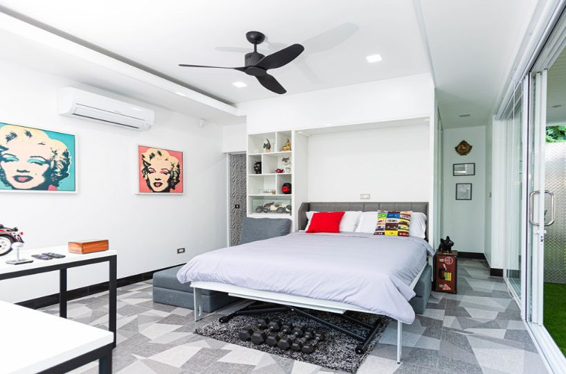 Bedroom 4 Front - One-Story Pool Villa Rawai 4 beds 4 baths
