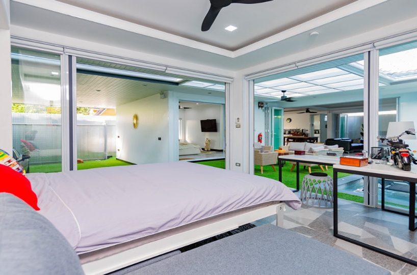 Bedroom 4 Side - One-Story Pool Villa Rawai 4 beds 4 baths