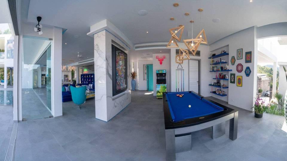 Pool Table Fun - Villa Enjoy Patong Beach Phuket