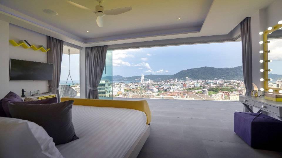 Bedroom Yellow - Villa Enjoy Patong Beach Phuket