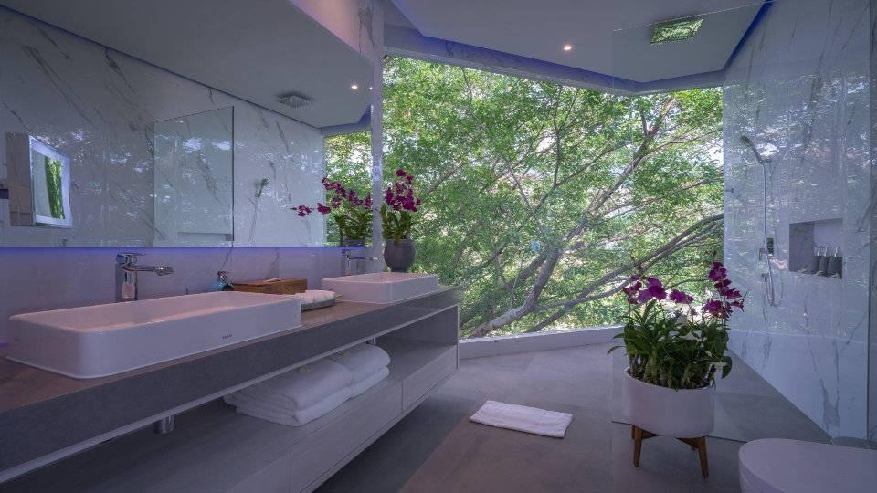 Bathroom Blue - Villa Enjoy Patong Beach Phuket