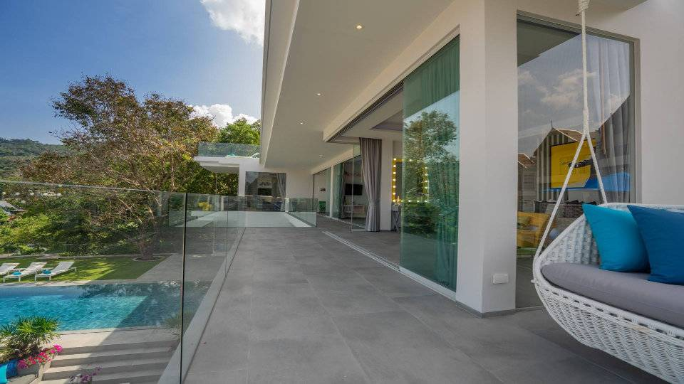 Walkway Bedroom Floor - Villa Enjoy Patong Beach Phuket