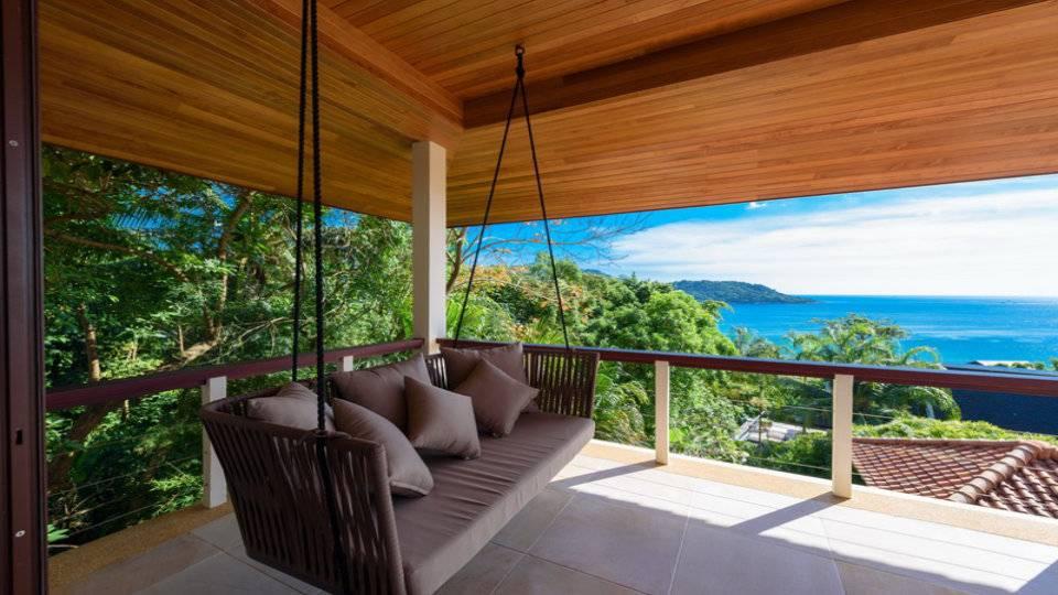 Swing on Terrace Upstairs