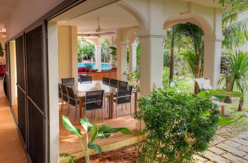 Dining Outside - Villa NamChai Rawai