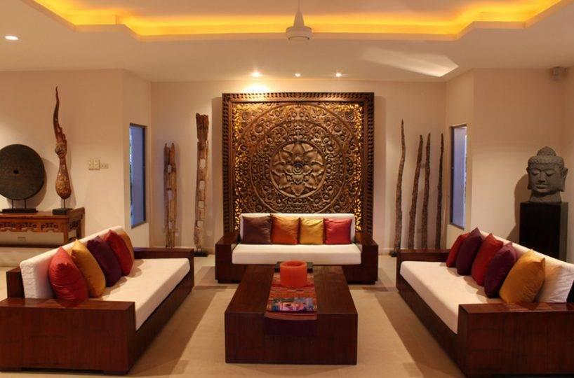 Living Room - Villa NamChai Rawai