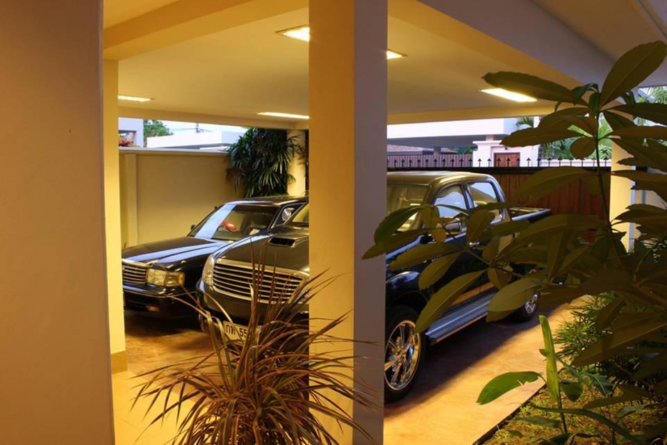 Parking 2 cars - Villa NamChai Rawai
