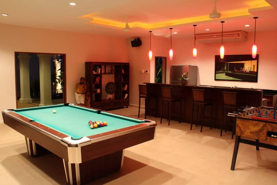 Game room Overview - Villa NamChai Rawai