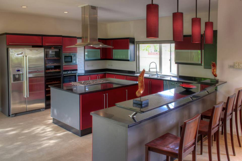 Kitchen Overview - Villa NamChai Rawai