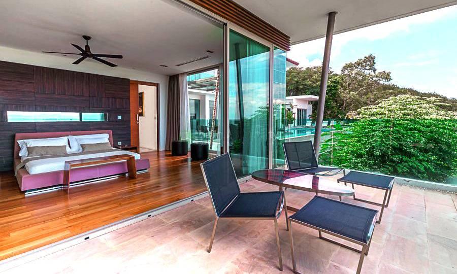 Bedroom with Terrace - Villa Dao Tiem
