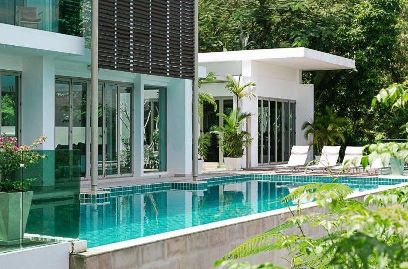 View at Villa and Pool - Villa Dao Tiem