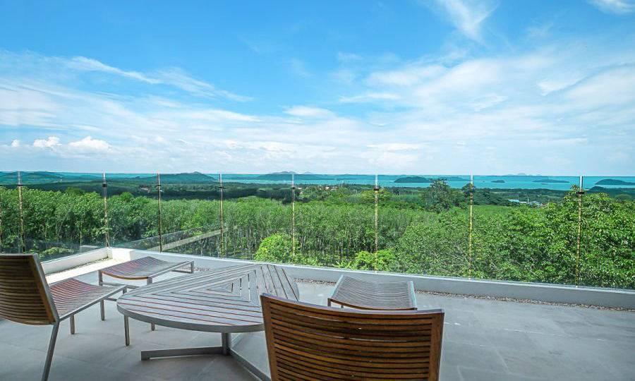 Terrace w/ View - Villa Dao Tiem